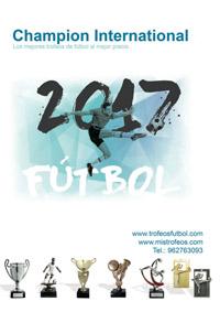 catalogo de trofeos de futbol